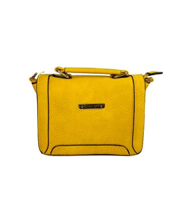Bolsa Quadrada Pequena - Mostarda