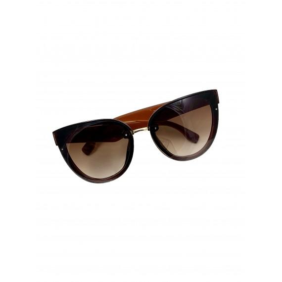 Óculos Escuro Marrom - Lente Marrom (Degradê) Proteção UV
