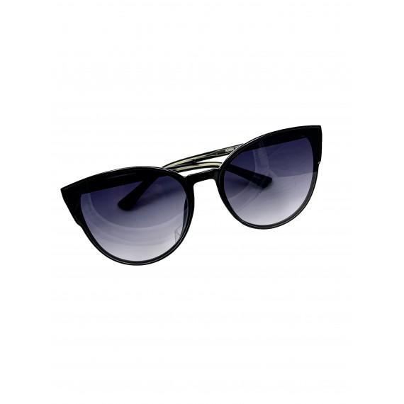 Óculos Escuro Gatinho (armação fina) - Lente Preta Proteção UV