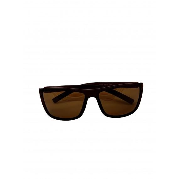 Óculos Escuro Masculino Marrom - Lente Marrom Proteção UV