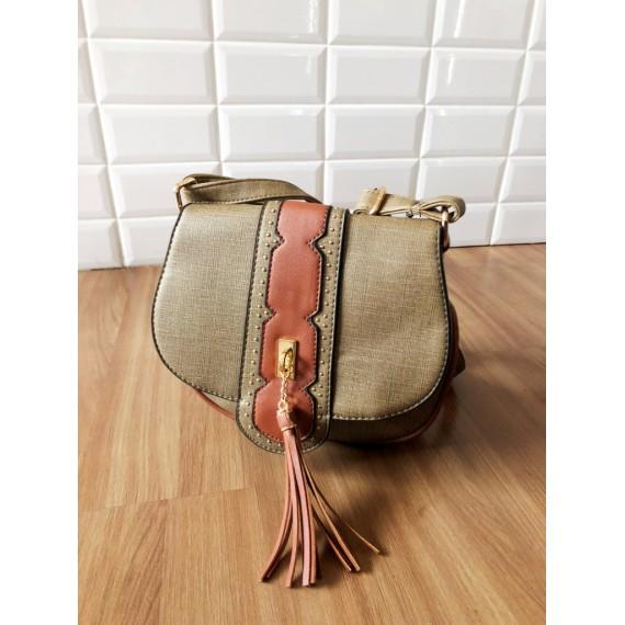 Bolsa Pequena - Tom Verde Musgo