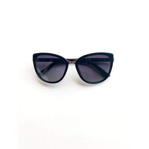 Óculos Escuro Gatinho - Lente Preta (Degradê) Proteção UV